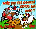 Chicken Across the Road Easter game online flash free